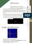 P2 Week 10 - Diffraction & Spectra