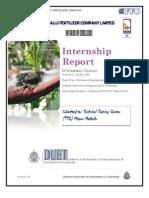 Internship Report FFC