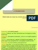 Variedades Del Discurso La Argumentacion