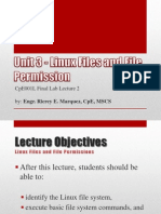 CpE001L Final Lab Lecture 2 - Linux Files and File Permissions