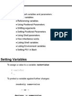 CpELECII Prelim Lecture 1 Part 2 - Linux Shell Variables and Parameters