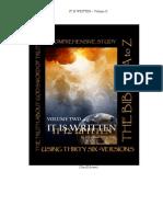 IT IS WRITTEN, Volume II. by John ben Wilhelm