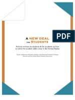 A New Deal for Students