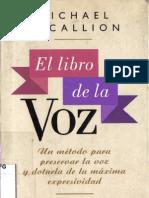 Michael McCallion - El Libro de La Voz