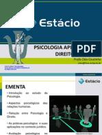 AULA 01 INTRODUÇÃO A PSICOLOGIA