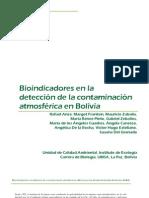 Bioindicadores en la detección de la contaminación en Bolivia