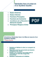 k Enjeux de La Qualitesasi