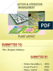 """""""Plant Layout to Start a New Bank Branch"""""""