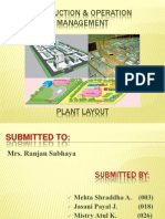 """Plant Layout to Start a New Bank Branch"""