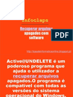 Recuperar arquivos apagados com software