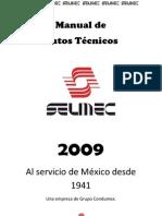 Manual SELMEC de Datos Tecnicos sin diseño