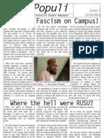 Vox Populi - Issue 1