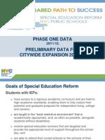 SPECED Reform Presentation - March 2013