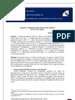Investigacion Pasado y Presente Del Delito de Aborto El Salvador