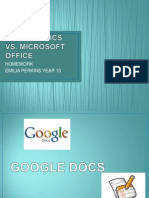 Google Docs Vs