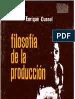 Filosofía de la producción