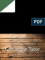 God at the Table - Sacrifice