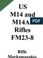army vietnam m14 m14a1 rifle marksmanship