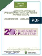 Esparru szioekonomikoko gizarte eragileen funtzioa euskararen inguruko politiken gainean (II)