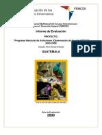 Evaluación Prog Nac Aviturismo - Guatemala 2008