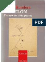 Kundera, Milan- El Telon (2005)