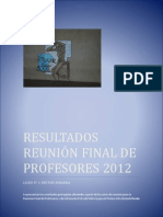 Informe final - Cuarto año 2012