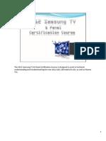 Curso de Paineis Lcd-pdp Samsung