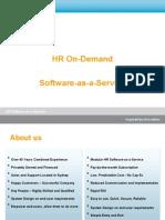 Subscribe-HR \ SaaS Sales Presentation