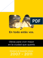 Ministerio de Desarrollo Urbano - Libro de Gestión 2007-2011
