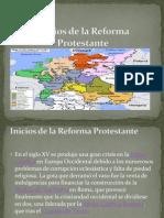 Inicios de La Reforma Protestante