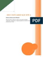 DICCIONARIO KICHWA