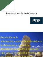 Presentacion de Imformatica
