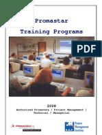 Promastar Training Programs