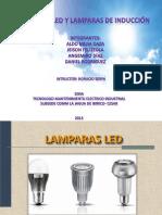 LAMPARAS LED Y LAMPARAS DE INDUCCIÓN