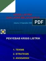 Daryoko - Krisis Listrik 110908