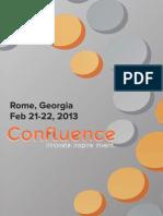Confluence 2013 Program