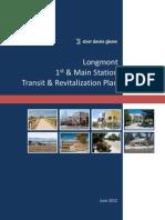 Longmont 1st & Main Station Transit and Revitalization Plan