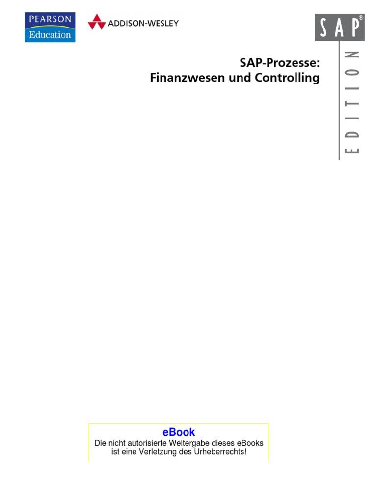 SAP Prozesse - Finanzwesen Und Controlling