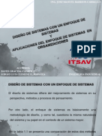 DISEÑO DE SISTEMAS CON UN ENFOQUE DE SISTEMAS