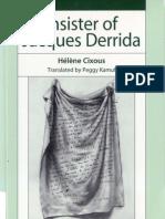 52821099 Cixous Helene Kamuf Peggy Insister of Jacques Derrida