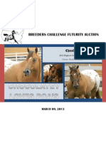 2013 bcf stallion auction catalog