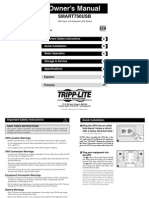 Manual Tripp Lite 750 USB.pdf