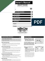 Manual Tripp Lite 750 USB.pdf