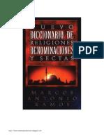 Nuevo Diccionario de Religiones, Denominaciones y Sectas