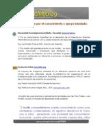 Bibliografia Referencias Agradecimiento COMED2009 Mmoreano