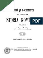 DIR, Iorga, 22 (Documente Interne)