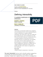 DOWNES , MCMILLAN - Defining interactivity.pdf