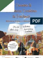 Cartaz Encontro Bibliotecas Escolares 2013