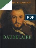 GAUTIER, THÉOFHILE. Baudelaire