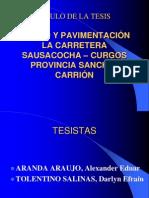 Exposición de proyecto de tesis IXciclo